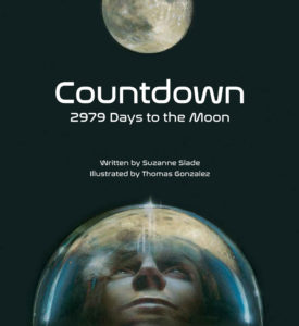 Countdown 2979 Days to the Moon book cover