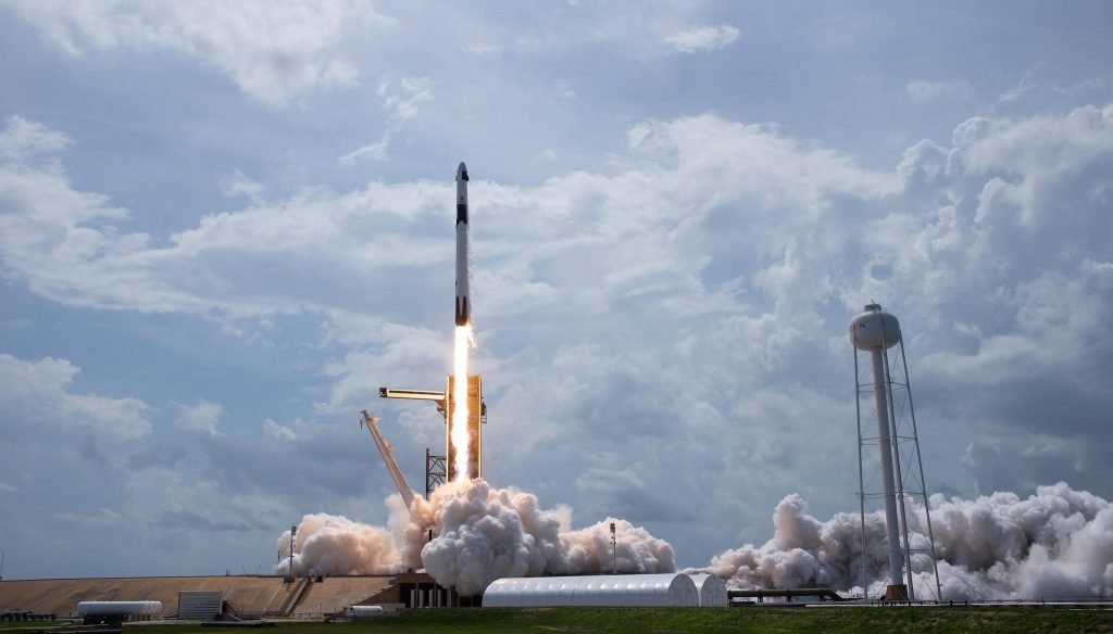 Picture of rocket launch